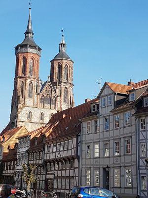 Fachwerk, altes Rathaus, Göttingen