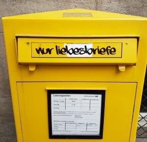 Briefkasten in Göttingen