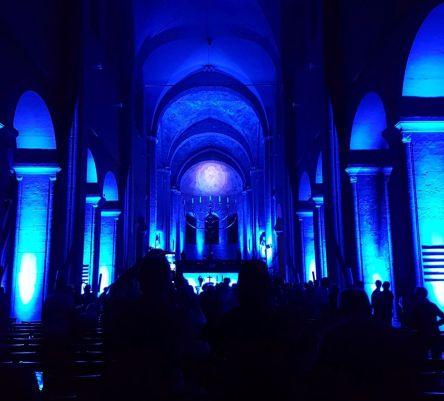 Sommernacht im Braunschweiger Dom, Lichtspiele, Konzert