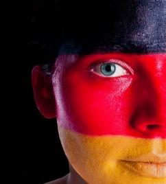 Deutsche Fahne, Flagge, schwarz-rot-gold