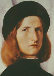 Lorenzo Lotto, Bild eines Jünglings