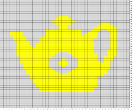Strickmuster, Einstrickmuster, Kanne, Teekanne, Kaffeekanne