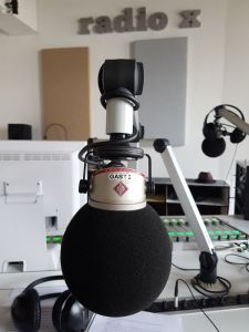 Radio, Mikrophon, Mikrofon