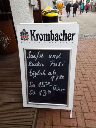 Kneipenschild, Norderney