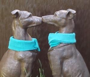 Skulptur Hunde