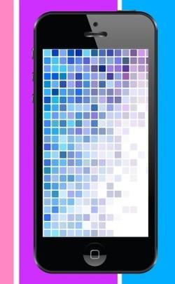 Handy, bunte Farben