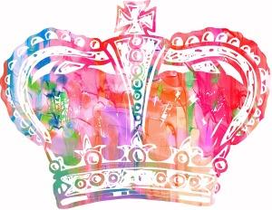 Krone, Wasserfarben