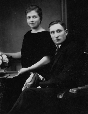 Verlobung Carl und Hedwig Möhle
