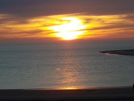 Borkum, Sonnenuntergang