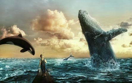 Wale und Kind